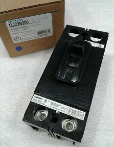 Qj22b200 Siemens Molded Case Circuit Breaker 2 Pole 200 Amp 240v new In Box