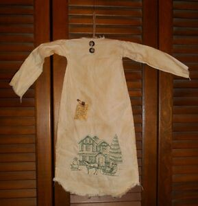 Primitive Grungy Decor Home For Christmas Nightshirt Winter Christmas Country