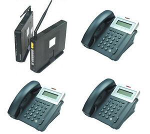 Voip hybrid Ip Sip Phone System With 3 Staff Phones