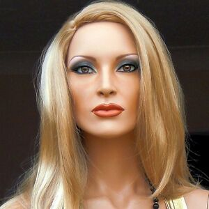 Hindsgaul Mannequin Makeovers Hand Painted Realistic Female Mannequin April