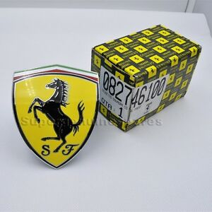 Ferrari 458 Italia Spider Speciale Fender Shield Badge Emblem 82746100 New 1pc