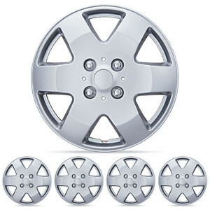 4 Piece Set Hubcap 15 Inch Oem Replacement Fit Full Lug Rim Covers Snap On Inst
