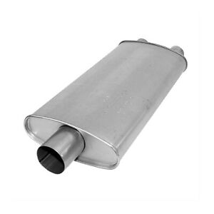 Ap Exhaust 6576 Direct Fit Msl Maximum Oval Muffler For C1500 c2500 c3500 k1500