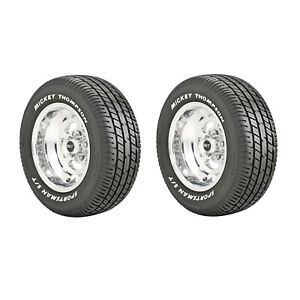 Mickey Thompson 90000000183 Sportsman S T Radial P255 60r15 Street 2 Set Tires