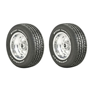 Mickey Thompson 90000000182 Sportsman S t Radial P245 60r15 Street 2 Set Tires