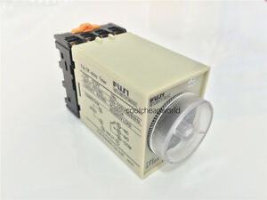 12v 24v 110v 220v St3pf 10s 30s 60s 3min Power Off Delay Timer Time Relay W Base