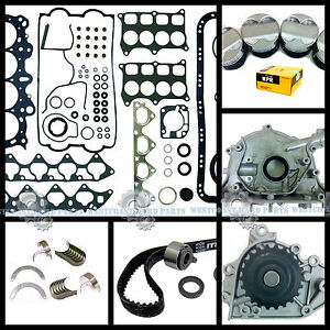 97 01 Acura Integra Type r 1 8l B18c5 Dohc Master Overhaul Engine Rebuild Kit