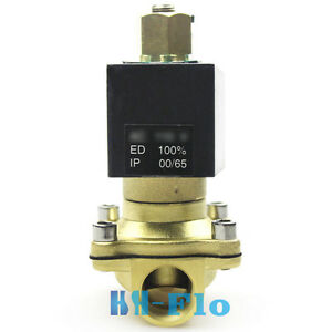 Normally Open 1 Npt Dc24v Electric Solenoid Valve For Gas Water Air