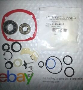 Ingersoll Rand 2145 Tk2 Tune Up Kit 1 Retaining Ring Kit Ir 2145 42 7 Vane Set