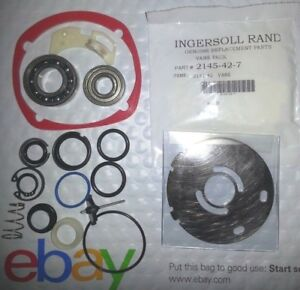 Ingersoll Rand 2145 Tk2 Tune Up Kit 2145 11x Wear Plate 1 Retaining Ring Kt