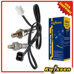 2xupper Under Oxygen O2 Sensor 1 Sensor 2 For Mitsubishi Galant 2 4l 1999 2003