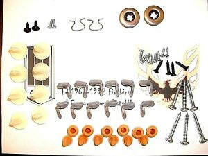 1978 1981 Camaro Firebird Trans Am Door Panel Installation Clip Fastener Kit