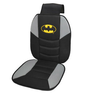 Batman Seat Cushion Massage Car Auto Home Office Black Cover Licensed Logo