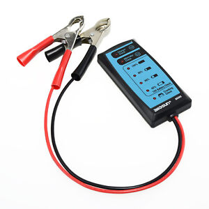 12v Car Battery Tester 6 Led Lights Digital Alternator Tester Auto Load Analyzer