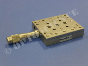 Newport M umr5 16 Linear Translation Stage With Bm11 16 Micrometer Metric