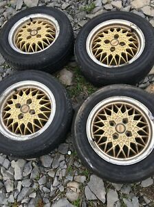 Bbs Ra Wheels In Ok Condition P195 60r14
