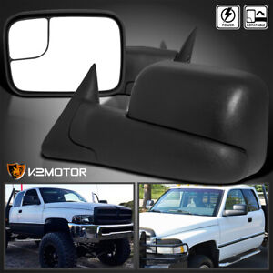 94 97 Dodge Ram 1500 2500 3500 Extend Flip Up Towing Power Mirrors Left Right