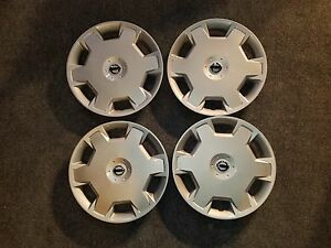 Set Of 4 New 2009 10 11 12 13 14 2015 Versa Cube Wheel Covers Hubcaps 53072