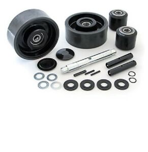 Jet L Pallet Jack Complete Wheel Kit includes All Parts Shown