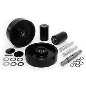Jet Ptx Pallet Jack Complete Wheel Kit includes All Parts Shown