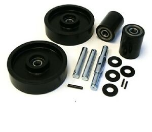 Jet W Pallet Jack Complete Wheel Kit includes All Parts Shown