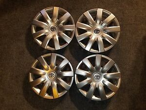 Set Of 4 Brand New 2005 2006 Camry Hubcaps 15 Wheel Covers 61136 Free Shipping