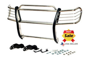 1998 2004 Toyota Tacoma Pre runner Chrome Grill Brush Guard In Stainless Steel