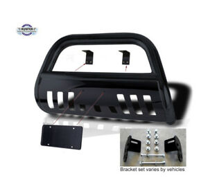 2007 2010 Ford Edge Classic Bumper Guard Push Bull Bar In Black 07 08 09