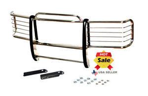 1988 98 Chevy Chevrolet Silverado Chrome Brush Grill Guard In Stainless Steel