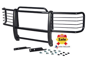 Fits 92 99 Suburban 95 99 Tahoe Bumper Brush Grill Grille Guard In Black