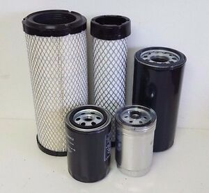 Mahindra Tractor Economy Pack Of 5 Filters 0455 0456 8904 3427 0316