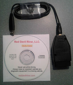 Gm Obd1 Scanner Cable Software Usb To 16 Pin Aldl Direct Gm Obdi
