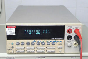 Keithley 2000 6 1 2 Digital Multimeter