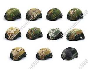TACTICAL MILITARY HUNTING AIRSOFT PAINTBALL OPS-CORE FAST BJPJMH HELMET COVER-