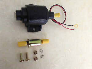 Brand New Micro Electric Fuel Pump Low Pressure In Line 4 6 Psi 35gph