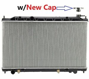 Radiator W Brand New Cap 2414 For 02 06 Nissan Altima 2 5 4cyl Only