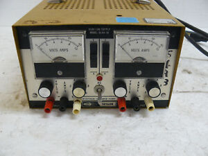 Systron Donner Trygon Dl40 1a Dual Power Supply