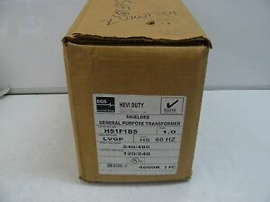 New Egs Sola Electric Hs1f1bs Shielded General Purpose Transformer