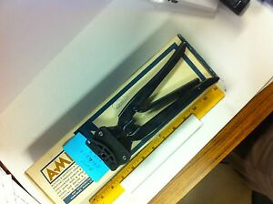 Amp 69140 1 r Type Bnc Crimper Electrical Crimping Tool Old Stock Good Condition