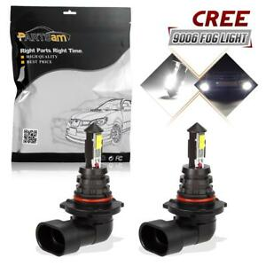 1pair 4 Cree Xte 40w White 9006 Hb4 Fog Driving Light 1500 Lm Led Aluminum