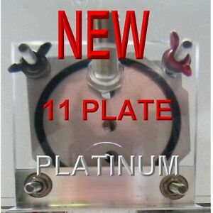 Aaa Hho 11 Plate Platinum Dry Cell Hydrogen Starter Kit All One Touch Fittings