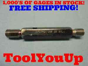 9 16 18 Unf 2b Special Pitch Thread Plug Gage P d s 5276 5279 5335 5332