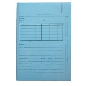 Blue Top Tab Patent Tri fold Folders Legal Size Box Of 25