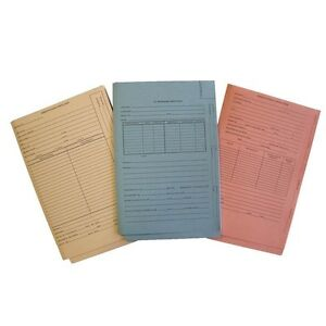 End Tab Patent Tri fold Folders Legal Size Box Of 25