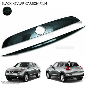 Black Carbon Accent Cover Tailgate Line Fit Nissan Juke 5door Hatchback 2012 15
