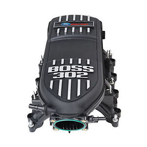 Boss 302 Intake Manifold For 11 14 Ford Mustang Gt V8 Ls 5 0