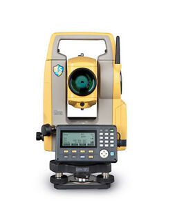 Topcon Es 105 5 Reflectorless Total Station With Laser Plummet Ts Shield