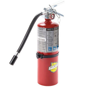 Buckeye 10914 5lbs Abc Multipurpose Dry Chemical Hand Held Fire Extinguisher