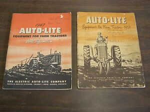 Oem Ford 1947 1951 Tractor Equipment Parts Books Manuals Numbers Illustrations