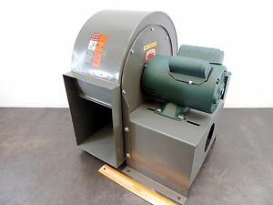 Dayton 2c890 Blower 10 5 8 Dust Collector Leeson Motor 3 4 Hp 3450 Rpm 115 230